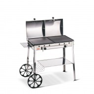 Barbecue ghisa gas stereo INOX