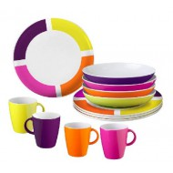 Set piatti Lunch Box Flame