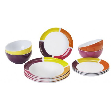 Set piatti Midday Spectrum Flame