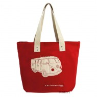 BORSA SHOPPER CANVAS VW T1 BUS - BUSB11